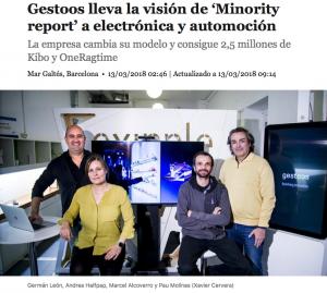 La Vanguardia Gestoos Kibo OneRagtime