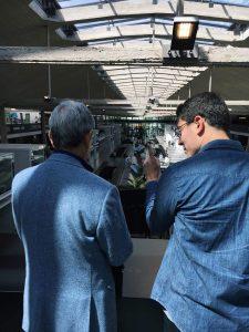 Nobuyuki Visit Sony Station F OneRagtime